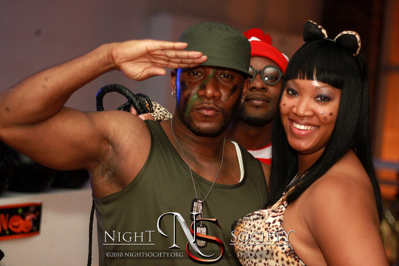 Bfreepaparazzi hosts his annual Upscale Halloween Party titled Saints & Sinners at 2720 Art Dimensions Gallery in South City Saint Louis. Photography by 90 Degree Concepts