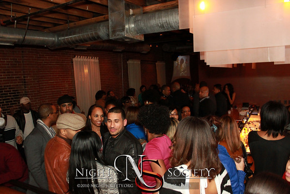The March Edition of First Friday at Exo Ultra Lounge. 03-02-2012.