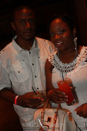 SLIM's All White Party at Exo Lounge - Photos taken by Maurice