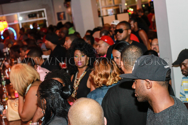 The Get Money fight party at Ginger Bistro