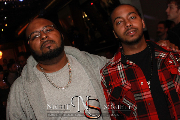 Arty J, DJ Deception, and Dwight Carter host Thirsty Thursdays (every thursday) at the Jive and Wail in downtown Saint Louis. With a special guest performance by Wu-Tang member and rap legend Raekwon. Photography by Nightsociety.org.