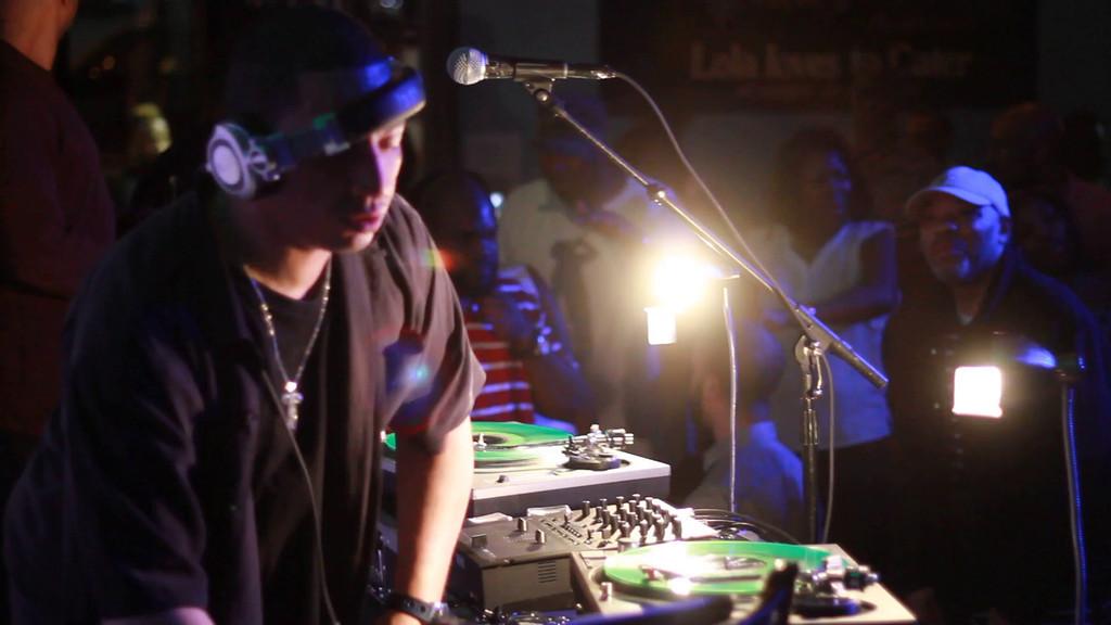 New York Based DJ and Hip Hop legend DJ Kid Capri Hosts host #ForDaHellOfIt at Lola 04.18.14. Photography by NightSociety.