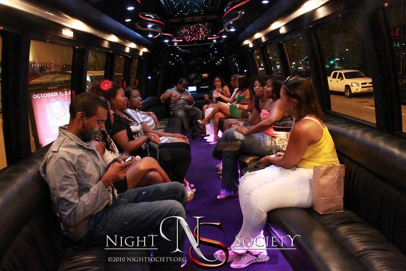 """""""The Party Before the Party"""" Glow 2hr Party Bus Scenic Tour- All you can Drink! - Photos taken by Michael"""