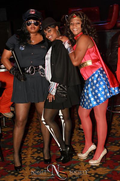 L.M.E. Hosts their Pre Halloween party at Posh Nightclub in East Saint Louis.