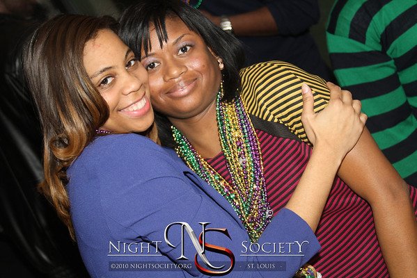 Ivy League Entertainment Presents Masq and Beads Mardi Gras Bash at the Rustic Goat in downtown St. Louis. Photography by NightSociety.