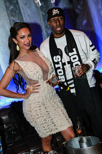Love and Hip Hop New York Reality TV star Erica Mena celebrates her birthday at the Coliseum Music Lounge. Photographhy by NightSociety.