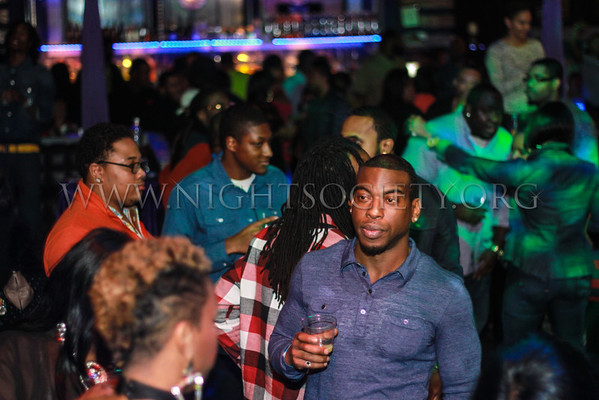 K.Michelle hosts her official afterparty at the Coliseum Music Lounge. Photography by NightSociety.