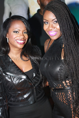 Kandi Burruss guest hosts Eightball and MJG at the Coliseum Music Lounge. Photography by NightSociety.