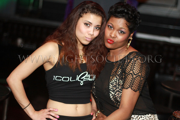 Liquid Assests presents leading ladies at the Coliseum Music Lounge. Photography by NightSociety.