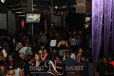 The Birthday party for King Kerry, one of the founders of HellaFly promotions at the Coliseum Music Lounge on Washington Ave in Downtown Saint Louis. Photography by Nightsociety.