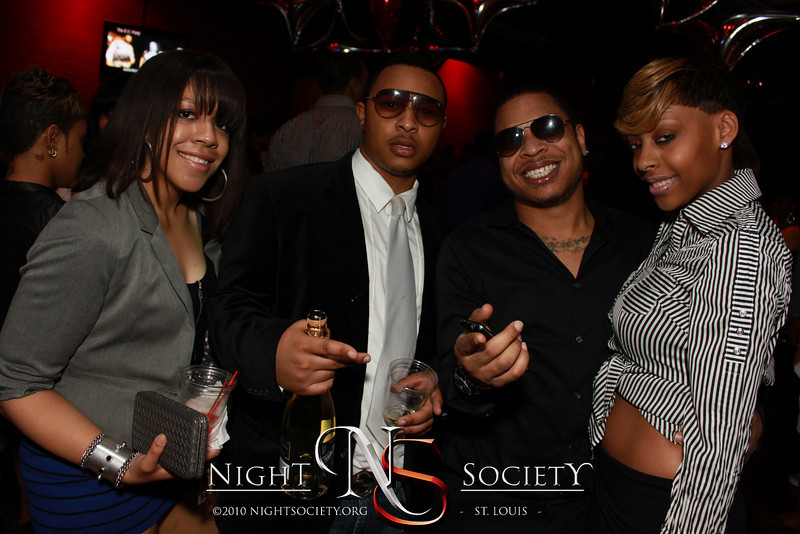 Champagne Life STL Pisces Bash at The Loft, with Chingy, Dre, and LA Brooks - Photos taken by Maurice