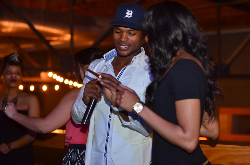 Harold Moore of VHI's Single Ladies Hosts Redefined Taste Friday night at the Coliseum Music Lounge. Gallery by NightSociety.org