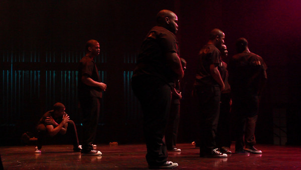 (Behind the scenes) Alpha Phi Alpha presents The 29th Annual Midwest Marchdown at The Touhill Performing Arts Center - Photos taken by Michael