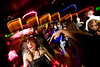 "11/6/08 Dorchester, MA -- dbar faithful, Katie Frothingham greets friends on the dance floor during ""So Dope"" at dbar November 6, 2008.  Besides having a crush on the DJ, Frothingham said she loves the event because ""No body is afraid to dance.""  Erik Jacobs for the Boston Globe"