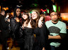 "11/6/08 Dorchester, MA -- dbar faithful pose for a photo on the dance floor during ""So Dope"" at dbar November 6, 2008. Erik Jacobs for the Boston Globe"