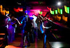 "11/6/08 Dorchester, MA -- From left, Patrick Kelly of Boston and Luie Garcia of Medford show off some moves (as well as some flexibility) on the dance floor during ""So Dope"" at dbar November 6, 2008.  Garcia says they come every week, especially for the music.  Erik Jacobs for the Boston Globe"