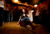 2/15/08 Boston, MA -- A circle forms around a dancer at Bembe, an Afro-Latin dance celebration at The Red Fez in Boston February 15, 2008.  Erik Jacobs for the Boston Globe