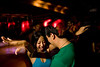 2/3/08 Boston, MA -- From left, Mavlyn Wang and Bing Cheah work it out on the dance floor at Sanctuary, February 3, 2008.  Erik Jacobs for the Boston Globe