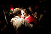 "2/3/08 Boston, MA -- A woman who gave her name as ""Sally Smith"" dances with Josh Baughman at Sanctuary, February 3, 2008.  Erik Jacobs for the Boston Globe"