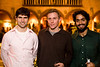 2/21/08 Boston, MA -- From left, Ronen Mukamel, Jason Schnell and Sheel Ganatra at the Gardner After Hours event at the Isabella Stewart Gardner Museum February 21, 2008.  Erik Jacobs for the Boston Globe