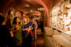 2/21/08 Boston, MA -- From left, Roopa Das and Sally Buta discuss some of the art work at the Gardner After Hours event at the Isabella Stewart Gardner Museum February 21, 2008.  Erik Jacobs for the Boston Globe