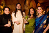 2/21/08 Boston, MA -- From left, Suelin Chen, Fazle Khan, Roopa Das and Sally Buta at the Gardner After Hours event at the Isabella Stewart Gardner Museum February 21, 2008.  Erik Jacobs for the Boston Globe