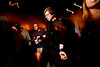 3/20/08 Cambridge, MA -- Josh Langberg dances amidst the crowd at Make it New at the Middlesex Lounge March 20, 2008.  Erik Jacobs for the Boston Globe