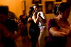 9/2/08 Cambridge, MA -- Bassem Youseff of Somerville dances with Tana Ruegamar of Cambridge at the milonga at the Lily Pad in Inman Square September 2, 2008.  Erik Jacobs for the Boston Globe