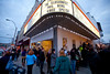 3/24/10 Brookline, MA -- A line forms outside at the 50th anniversary screening of Breakfast at Tiffany's at The Coolidge Corner Theatre Monday, March 14, 2010.  Erik Jacobs for the Boston Globe
