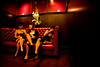 12/4/08 Boston, MA -- From left, West End roommates Cristina Calzadilla, Cynthia Medina and Sarah Hormel celebrate the 75th Anniversary of the Repeal of Prohibition at the roaring 20's party at Eastern Standard in Boston December 4, 2008.  Erik Jacobs for the Boston Globe