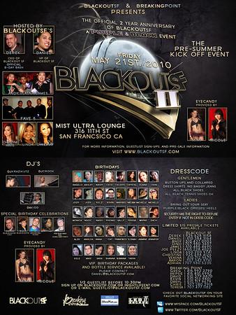 Blackout SF 2 Year @ Mist - 5.21.10