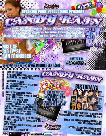 Candy Rain @ Mist - 9.25.09