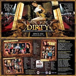 Dirty XXX @ Space 550 --- 7/18/08 [18+]