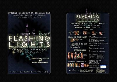 Flashing Lights @ Glas Kat - 7.9.09