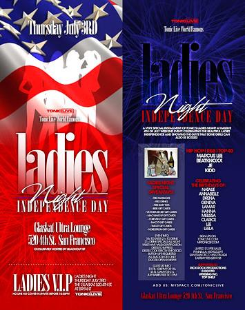 Ladies Night @ Glas Kat --- 7/3/08 [18+]