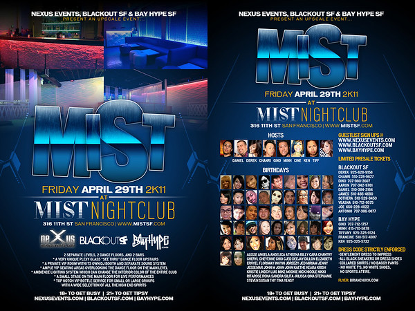 Mist @ Mist Night Club - 4/29/11