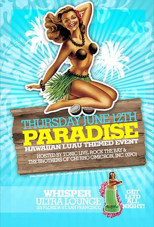 Paradise @ Whisper --- 6/12/08 [18+]