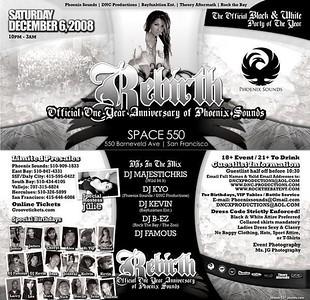 Phoenix Sounds' Rebirth @ Space 550 - 12.06.08
