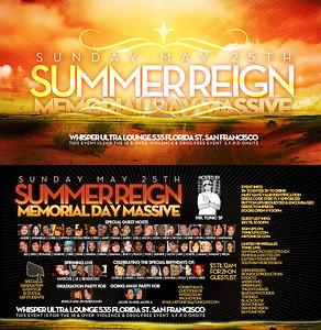 Summer Reign @ Whisper --- 5/25/08 [18+]