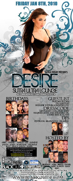 Desire @ Sutra - 1.8.10