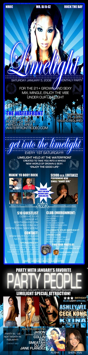 LimeLight @ the Waterfront -- 21+