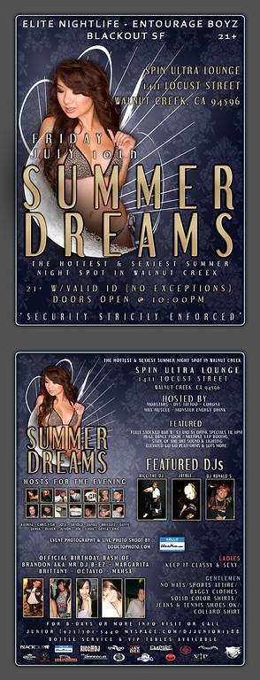 Summer Dreams @ Spin - 7.10.09