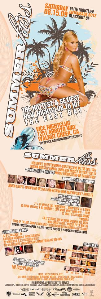 Summer Kiss @ Vice - 8.15.09