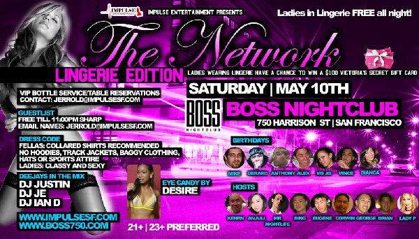 The Network @ Club Boss --- 5/10/08 [21+]