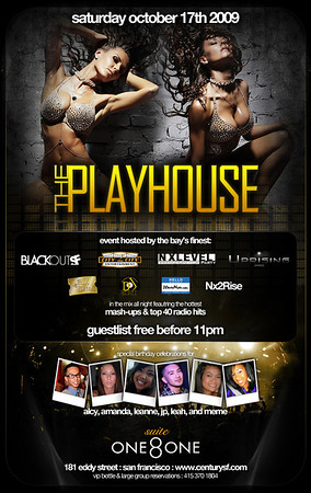 The Playhouse @ Suite 181 - 10.17.09