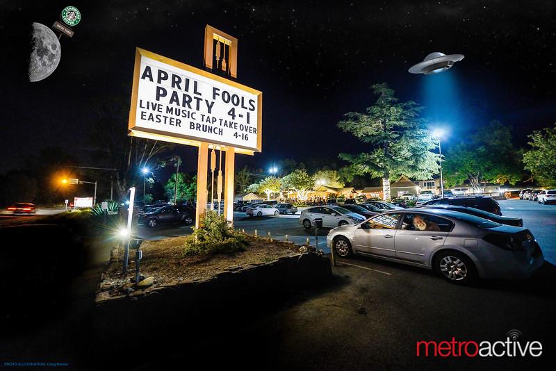 Starbucks on the Moon, UFO's & Bigfoot  //  01 April 2017