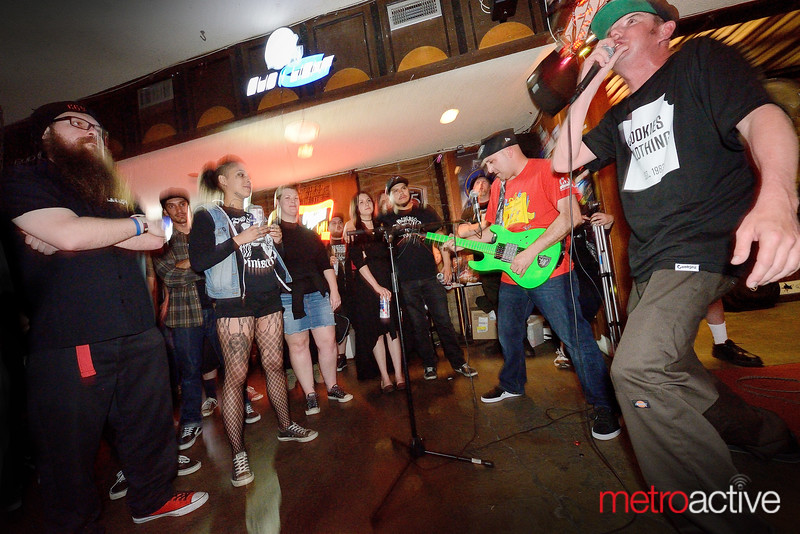 Law Abiding Citizens perform at Caravan Lounge - San Jose