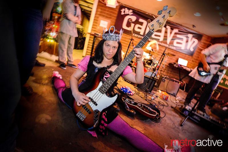 Doctor Striker performing at the Caravan Lounge - DT San Jose