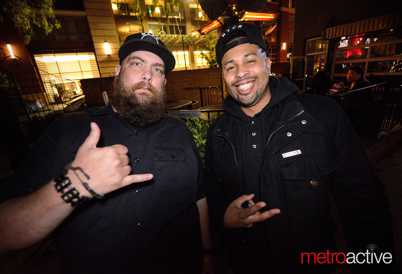 The mighty security staff at Blush Raw Bar & Lounge - DTSJ