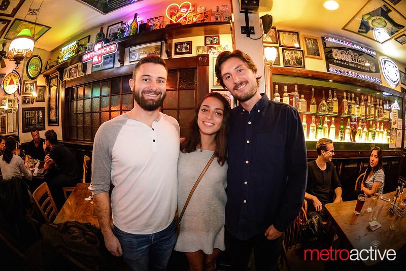 10 September 2016 ~ Pub Crawl: Los Gatos (CB Hannegans pictured)